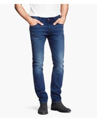 H&M Slim Low Jeans - Lyst