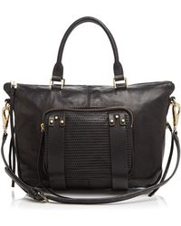 She + Lo - Satchel - Next Chapter Mini Perforated - Lyst