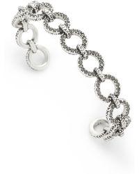 House of Harlow 1960 - Eternal Link Cuff Bracelet - Lyst