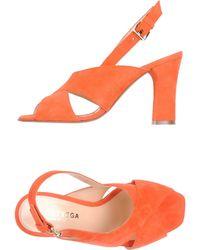 A. Bottega - High-heeled Sandals - Lyst