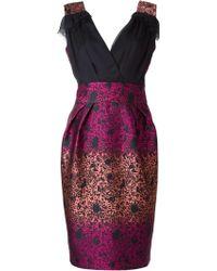 Matthew Williamson Abstract Print Sleeveless Dress - Lyst