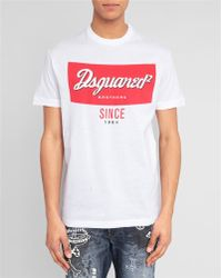 DSquared² White Tomato Soup T-Shirt - Lyst