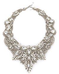 Jenny Packham - Gazelle Crystal Necklace - Lyst