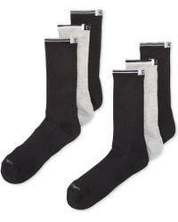 Calvin Klein Sport Crew Socks 6 Pack - Lyst