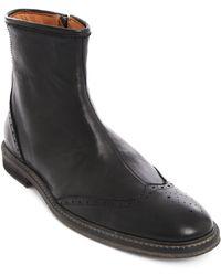 Anthology Paris Black Chelsea Boots - Lyst