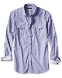 Banana Republic Slim-fit Western Shirt - Lyst