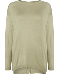 Mary Portas Button Back Jumper - Lyst