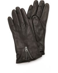 SOIA & KYO - Brienne Gloves - Black - Lyst
