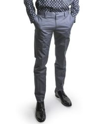 Dolce & Gabbana | Light Grey Slim Fit Trousers | Lyst