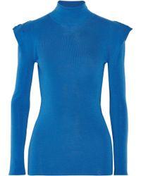 Vionnet Merino Wool Turtleneck Sweater - Lyst