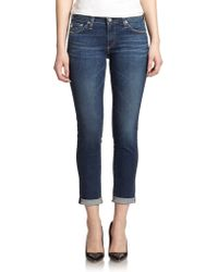 AG Adriano Goldschmied The Stilt Roll-Up Jeans - Lyst