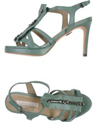 Schumacher Sandals - Lyst