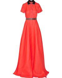 Roksanda Rowden Silk-Organza Gown - Lyst
