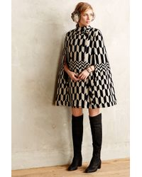 Plenty by Tracy Reese - Domino Deco Cape - Lyst