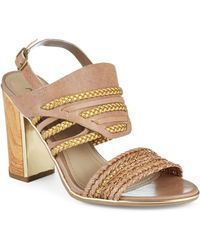 Kenneth Cole Reaction - Artful Sandals - Lyst