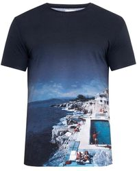 Orlebar Brown Tommy Roc Pool-Print T-Shirt - Lyst