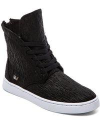 Supra Black Joplin Sneaker - Lyst