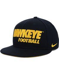 Nike Iowa Hawkeyes Snapback Cap - Lyst
