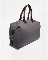 Vivienne Westwood Gray Weekend Bag - Lyst