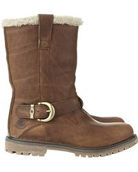 Timberland - Earthkeepers Nellie Shearling Boot - Lyst