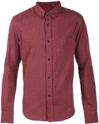 Band Of Outsiders Plaid Shirt - Lyst