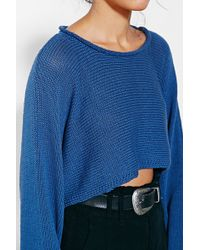 Silence + Noise - Sam Cropped Sweater - Lyst