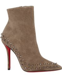 Christian Louboutin Willetta Ankle Boots - Lyst