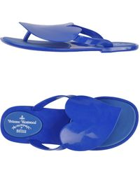 Vivienne Westwood Anglomania Melissa Thong Sandal - Lyst