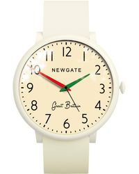 Newgate Watches - Wwlclbc002sc Unisex Club Stainless Steel Silicone Strap Watch - Lyst