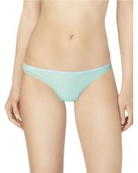 Calvin Klein Bottoms Up Thong - Lyst