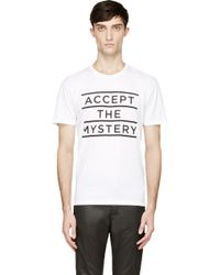 Surface To Air White Accept The Mystery T_shirt - Lyst