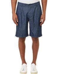 Barena Venezia Geo-pattern Cuffed Shorts - Lyst