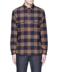 J.Crew | Buffalo Check Cpo Shirt-jacket | Lyst