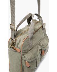 Mango - Multi-pocket Canvas Weekend Bag - Lyst