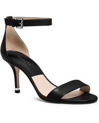 Michael Kors Suri Leather Sandal - Lyst