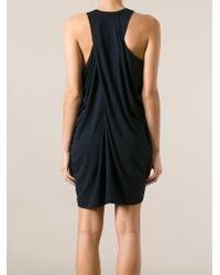 Kai-aakmann - Draped Dress - Lyst