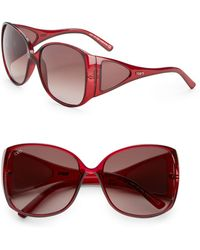 Tod's Oversized Acetate Sunglasses - Lyst