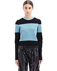 Paco Rabanne New Season - Womens Stripe Knit Sweater - Lyst