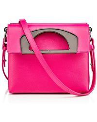 Christian Louboutin Pink Passage Mini - Lyst