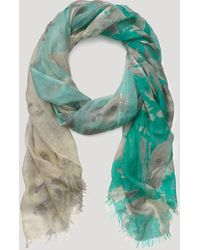 Pashma - Floral Ombre Scarf - Lyst