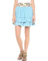 Carolina K - Two Ruffle Skirt - Lyst