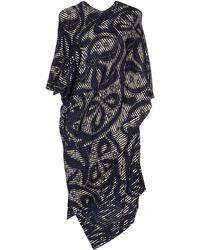 Vivienne Westwood Anglomania Knee-Length Dress blue - Lyst