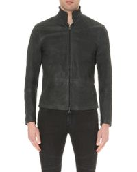 Matchless - Craig Nubuck Leather Jacket - Lyst