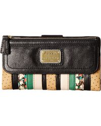Fossil Emory Clutch multicolor - Lyst
