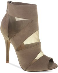 Chinese Laundry Brown Jasper Booties - Lyst