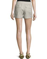 C&C California - Drawstring Rolled-cuff Shorts - Lyst