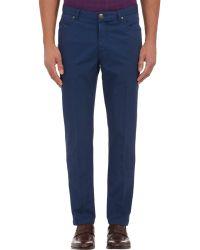 Luciano Barbera - Men's Lightweight Twill Jeans - Lyst
