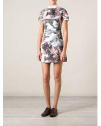Carven Seascape Print Dress - Lyst