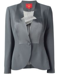 Vivienne Westwood Red Label Contrast Panel Blazer - Lyst