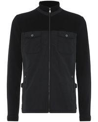 Boss Black Pizzoli 21 Jersey and Nylon Jacket - Lyst